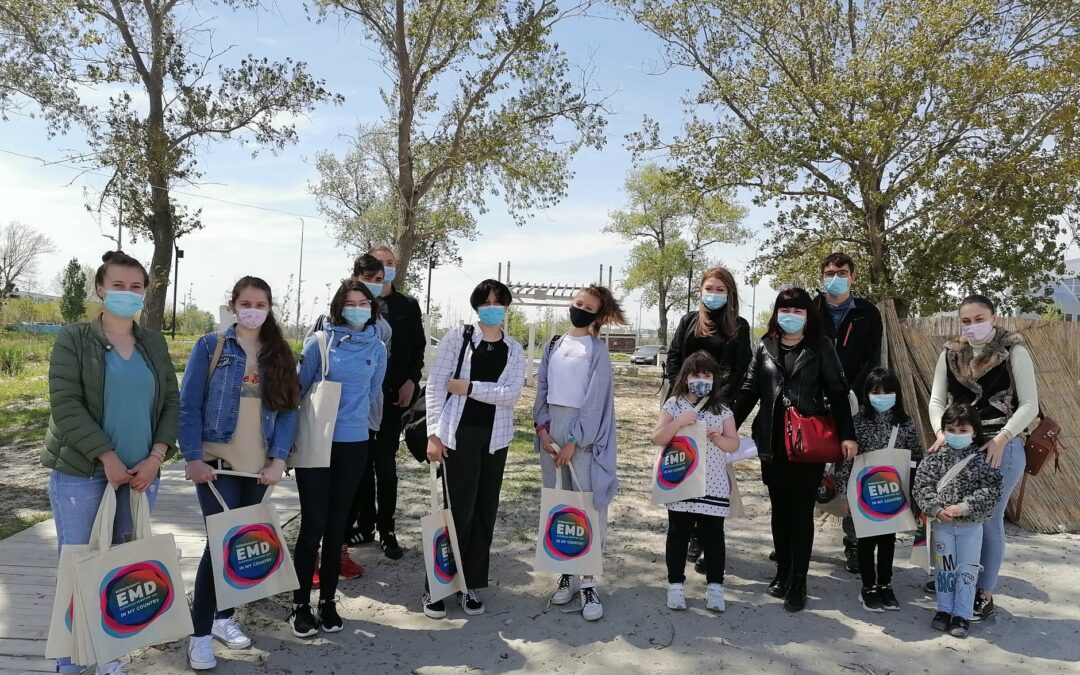 """Workshop – """"O abordare diferită în domeniul educației ecologice: Conectarea tinerilor ambasadori la misiunea de Creștere Albastră"""
